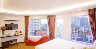 Dinh Hotel - האנוי - חדר שינה