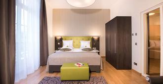 Hotel Collegium Leoninum - בון - חדר שינה