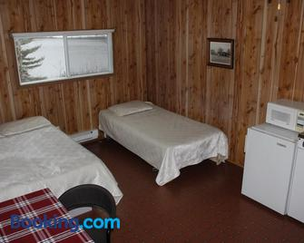 Chalets Bord du St-Maurice - La Tuque - Schlafzimmer