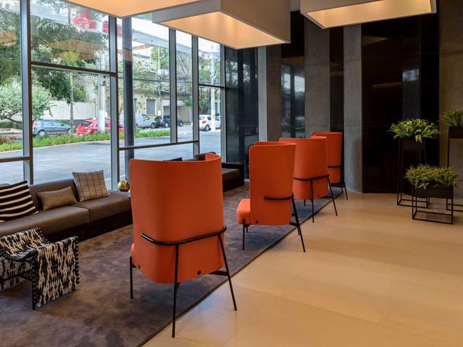 慢板聖保羅巴哈豐達公寓飯店 - 聖保羅 - 休閒室
