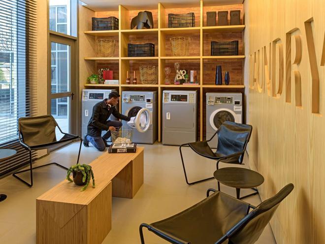 慢板聖保羅巴哈豐達公寓飯店 - 聖保羅 - 客廳