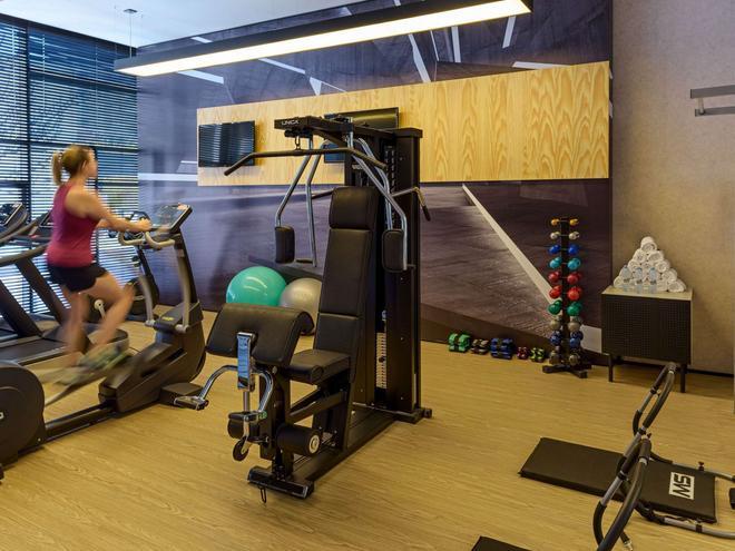 慢板聖保羅巴哈豐達公寓飯店 - 聖保羅 - 健身房