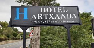 Hotel Artxanda - Bilbao - Vista del exterior