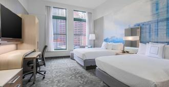 Courtyard by Marriott Pittsburgh Downtown - Pittsburgh - Schlafzimmer
