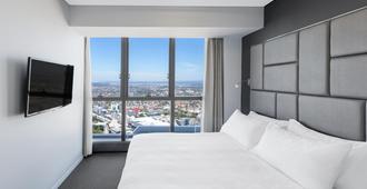 Meriton Suites Herschel Street, Brisbane - Брисбен - Спальня