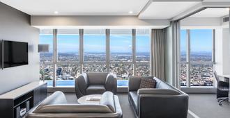 Meriton Suites Herschel Street - בריסביין - סלון