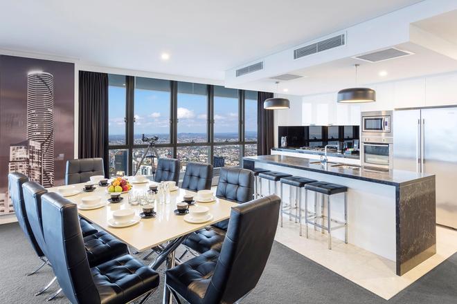 Meriton Suites Herschel Street, Brisbane - Брисбен - Обеденный зал