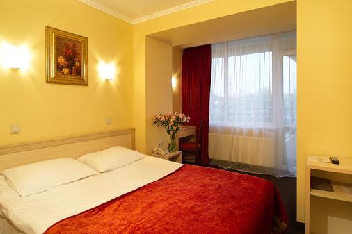 索納塔酒店 - 利沃夫 - 利沃夫 - 臥室