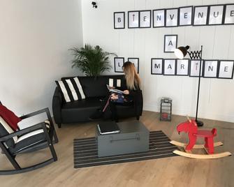 Hôtel La Marine - Carnac - Living room