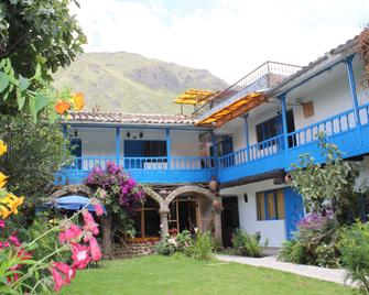 Las Portadas - Ollantaytambo - Rakennus