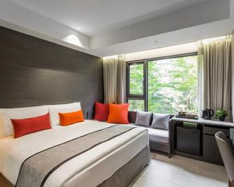 Icasa By Gogo Hotel - Taichung City - Bedroom