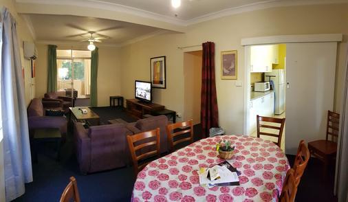 Amber Court Motor Inn - Coonabarabran - Comedor