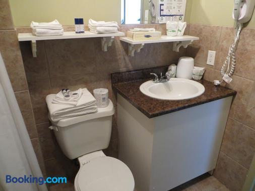 魁北克旅行酒店 - 魁北克 - 魁北克市 - 浴室