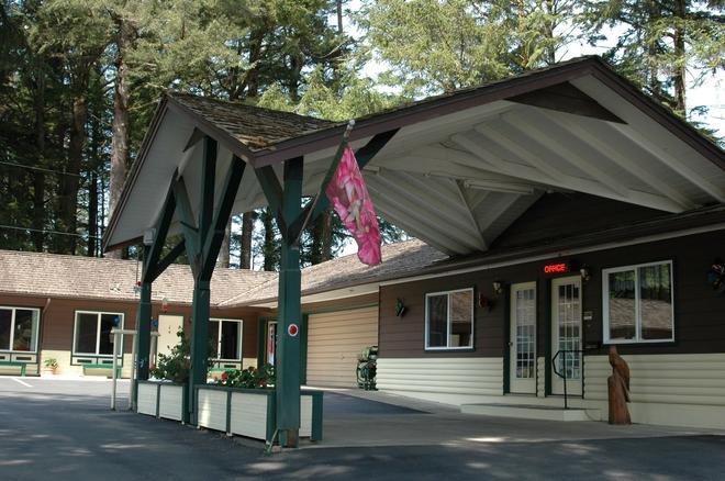 Park Motel and Cabins - Florence - Rakennus