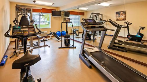 Best Western Paradise Inn - Savoy - Gym