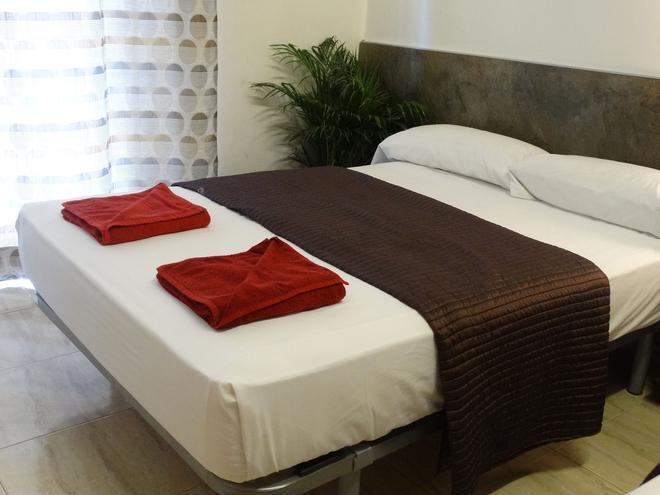 莎博蒙特旅館 - 巴塞隆拿 - 巴塞隆納 - 臥室