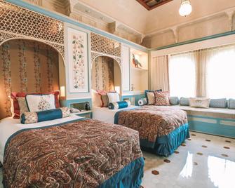 Taj Lake Palace - Udaipur - Bedroom
