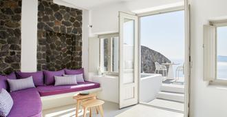 La Perla Villas And Suites - Oia - Olohuone