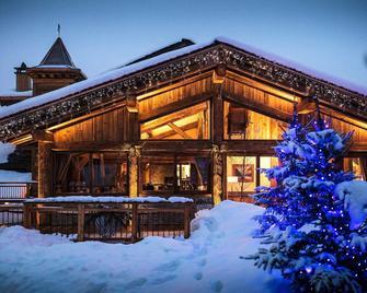 Hotel Restaurant La Bouitte - Relais & Châteaux - 3 étoiles Michelin - Les Belleville - Building