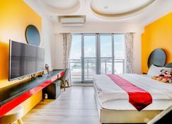 أوشن بارتي بد آند بريكفاست - Magong City - غرفة نوم
