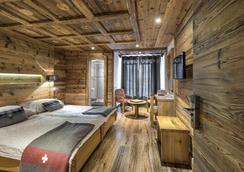 Hotel le Grand Chalet - Leysin - Bedroom