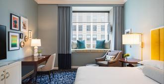 摩納寇芝加哥金普頓酒店 - 芝加哥 - 芝加哥 - 臥室