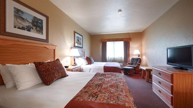 Best Western Devils Tower Inn - Hulett - Bedroom