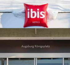 Ibis Augsburg beim Königsplatz