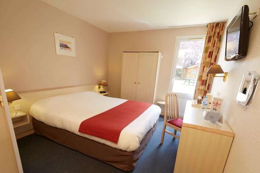 Kyriad Vernon Saint-Marcel - Saint-Marcel - Bedroom