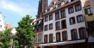 Hotel Rohan - Estrasburgo - Edificio