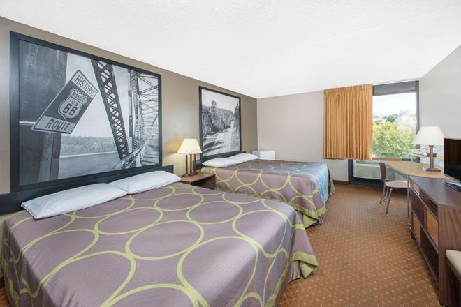 布蘭森 - 安迪威廉姆斯劇院速 8 酒店 - 布蘭森 - 布蘭森 - 臥室