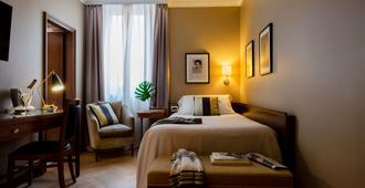 學院酒店 - 維羅納 - 維羅那 - 臥室