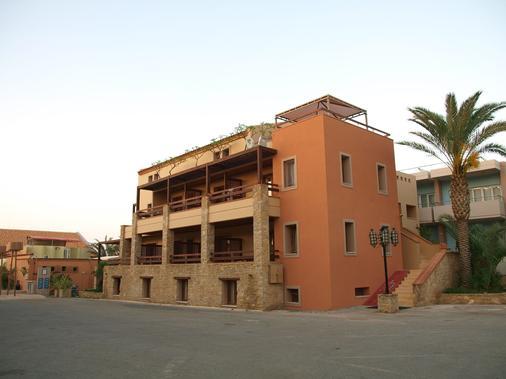 Mylos Hotel Apartments - Platanias - Κτίριο