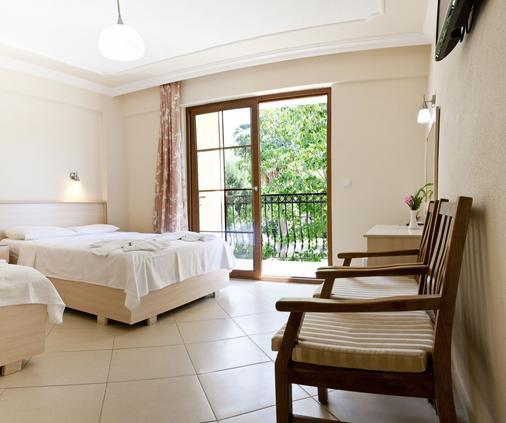 哥克森公寓酒店 - 費特希耶 - 費特希耶 - 臥室