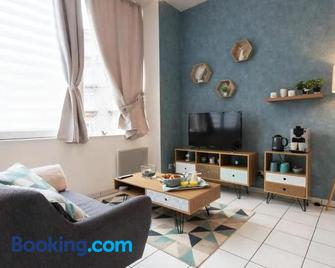 Appart'Confort - Le Scandi-Cosy - Saint-Brieuc - Living room