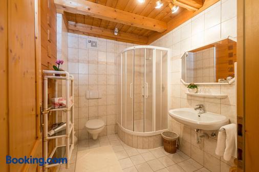 Bio-Holzhaus und Landhaus Heimat - Ramsau am Dachstein - Bathroom