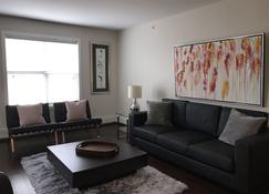 NEW Built Modern, Cozy and Spacious 2-bedroom Condo - Saskatoon - Living room