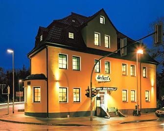 Deckert's Hotel & Restaurant - Eisleben - Gebouw