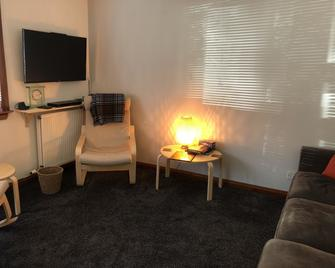 New Super 2bd Flat Near Dalkeith Town Centre - Далкіт - Living room
