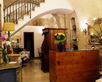 San Andrea Degli Armeni B&B di Charme - Dimora Storica - Таранто - Front desk