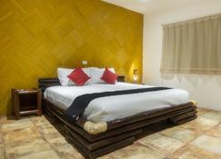 Hotel Posada Jarritos - Cuetzalán del Progreso - Slaapkamer
