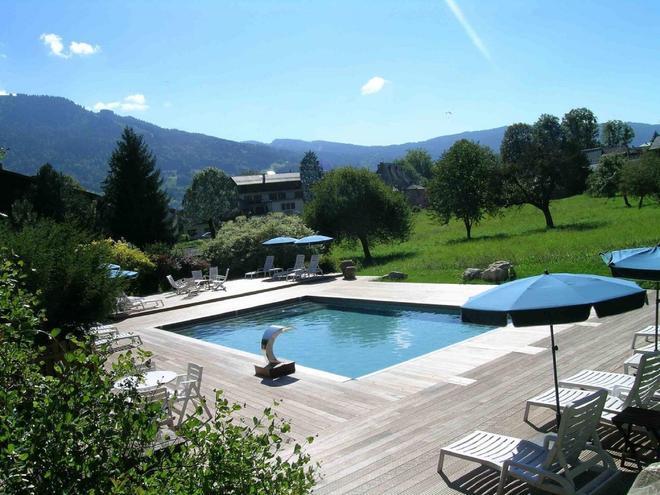 Chalet Résidence La Renardière - Samoëns - Pool