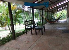 Cabañas El Porvenir - Ruinas de Palenque - Patio