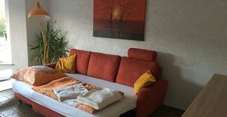Modern apartment in Düsseldorf close to the lake Unterbacher See - Düsseldorf - Wohnzimmer