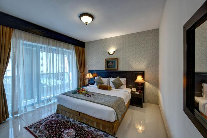 Nihal Residency Hotel Apartments - Dubai - Bedroom