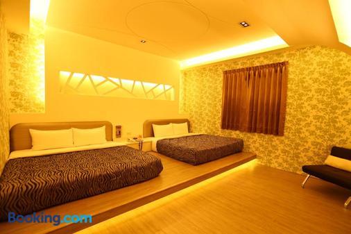 Yuan Chyau Motel - Taichung - Bedroom