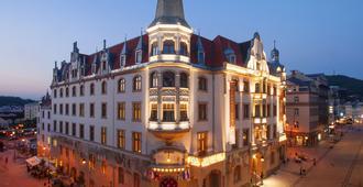 グランドホテル アンバサダー - ナロドニ ドゥム - カルロヴィ・ヴァリ - 建物
