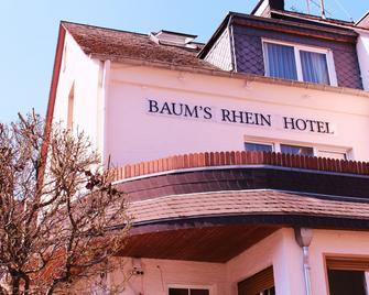 Baums Rheinhotel - Boppard - Gebouw