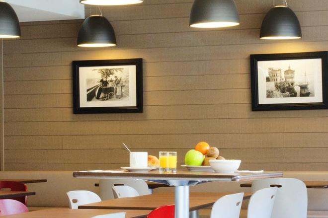 尼斯中心雅典衛城鐘樓酒店 - 尼斯 - 尼斯 - 餐廳
