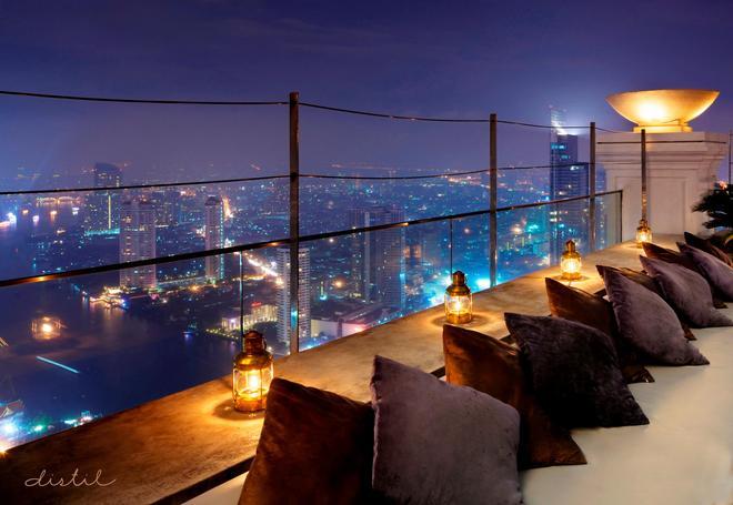 Lebua at State Tower - Bangkok - Balcony